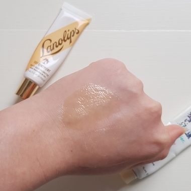 Glossier Balm Swatched